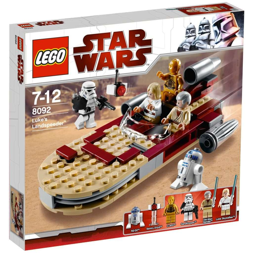 Which is the Best LEGO Star Wars Landspeeder Sets | Bossk's