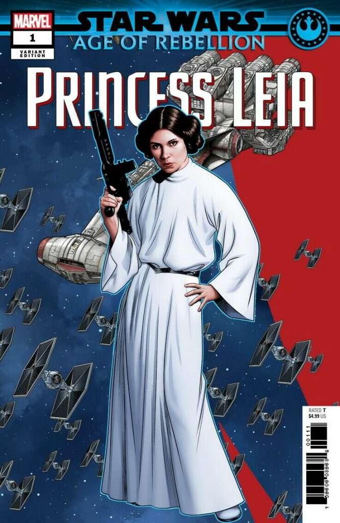 Age of Rebellion Princess Leia Puzzle Variant