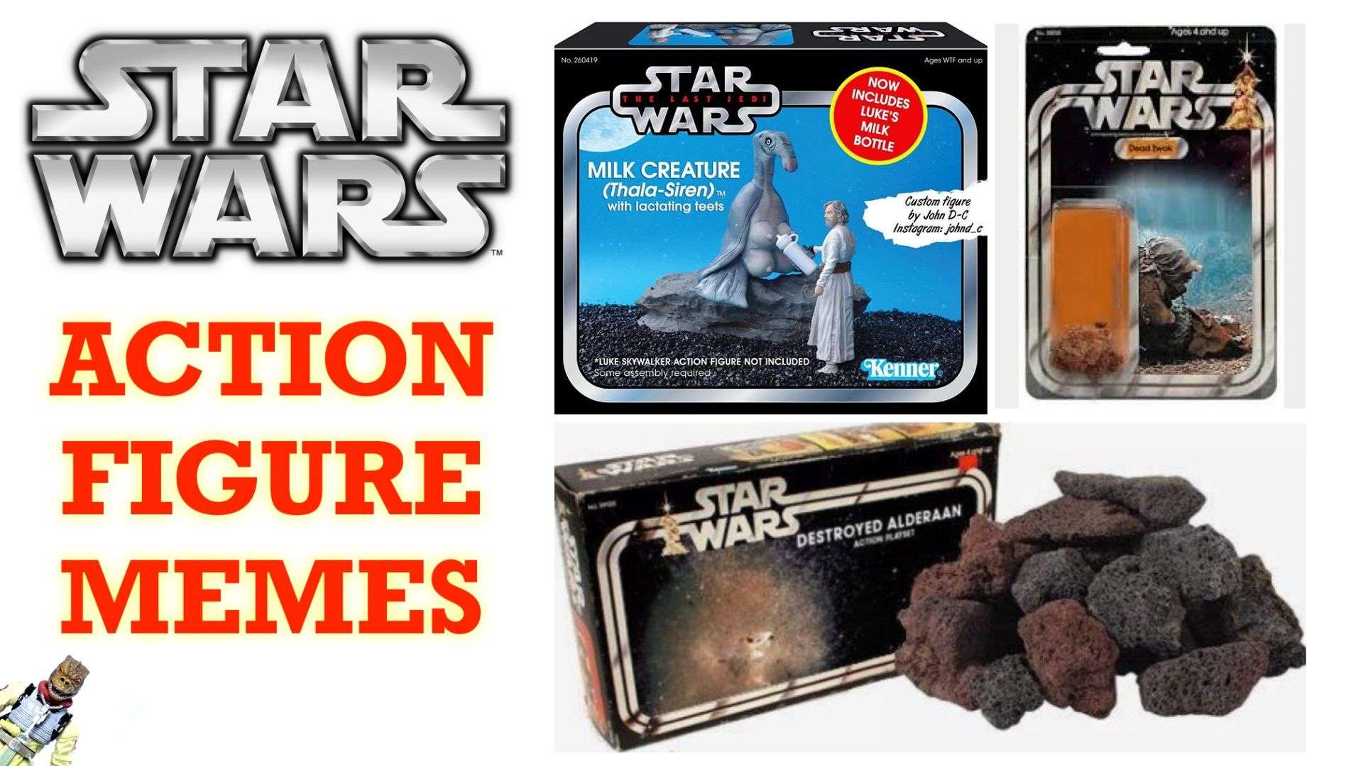 Funny Star Wars action figure memes