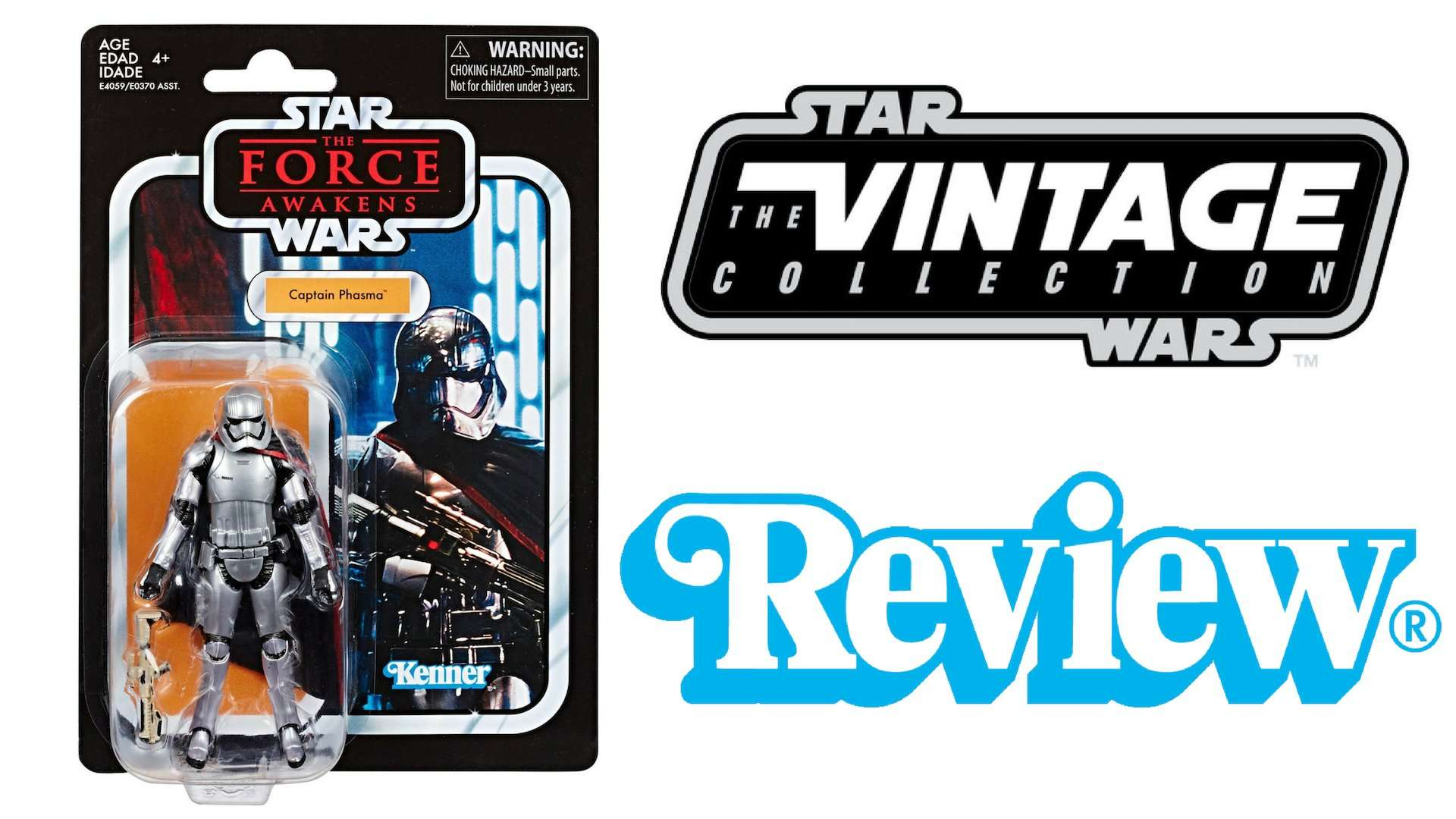 Star Wars Vintage Collection Captain Phasma review