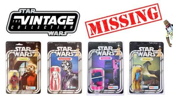 Missing vintage collection figures episode 1