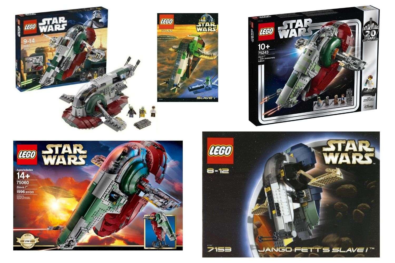 Best LEGO Star Wars Slave I Sets (Comparison) | Bossk's Bounty