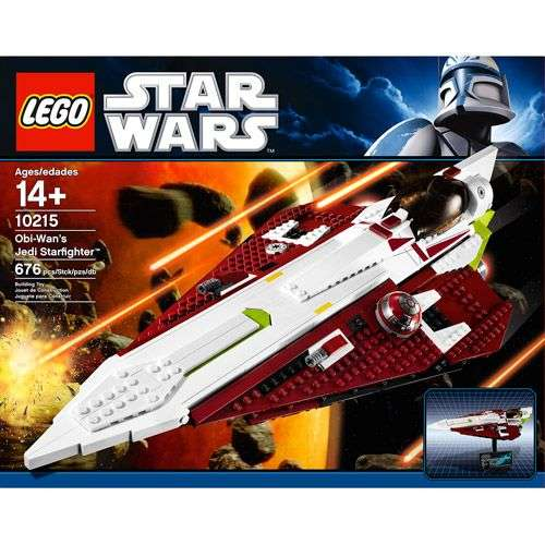 10215 Obi-Wan's Jedi Starfighter(Ultimate Collector's Series)