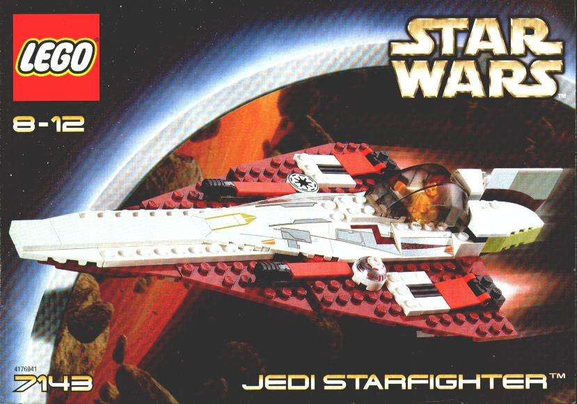 7143 LEGO Jedi Starfighter