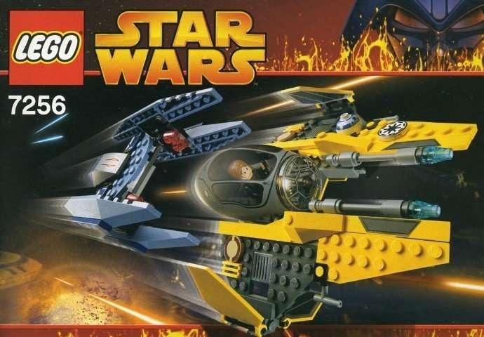 7256 Jeddi Starfighter and Vulture Droid