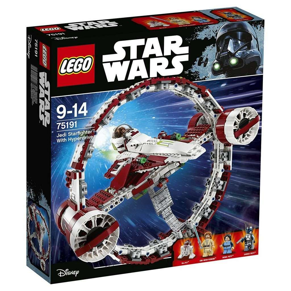 75191 Jedi Starfighter with Hyperdrive Booster Ring