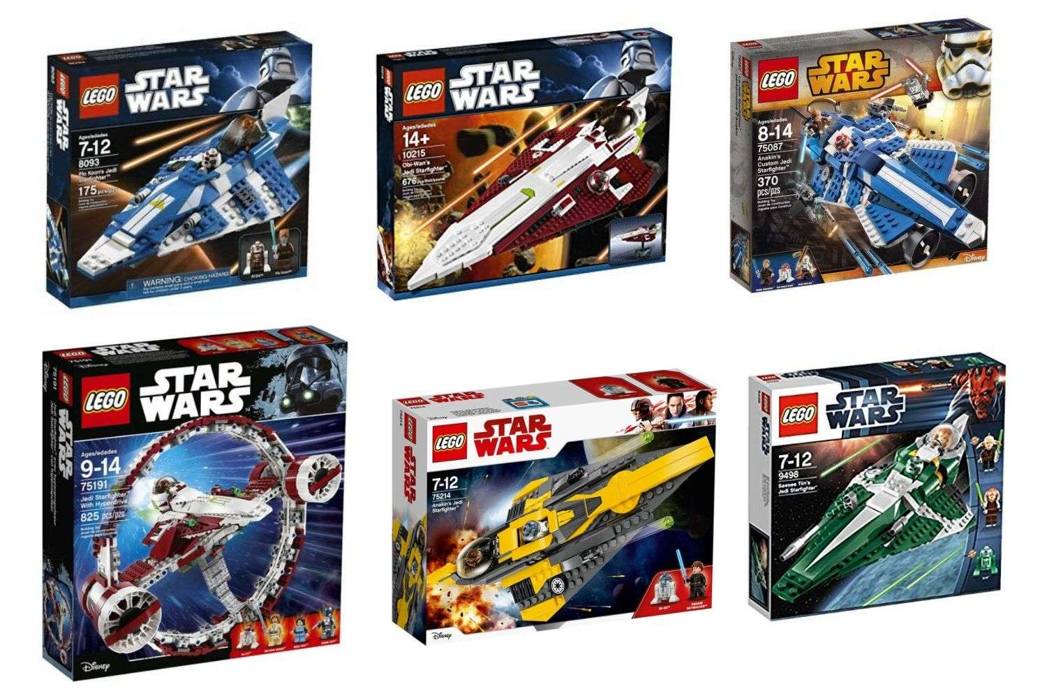 Best LEGO Star Wars Jedi Starfighter Sets