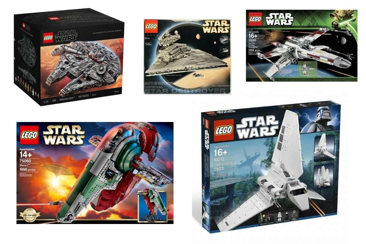 The Best LEGO Star Wars Ultimate Collectors Series Sets