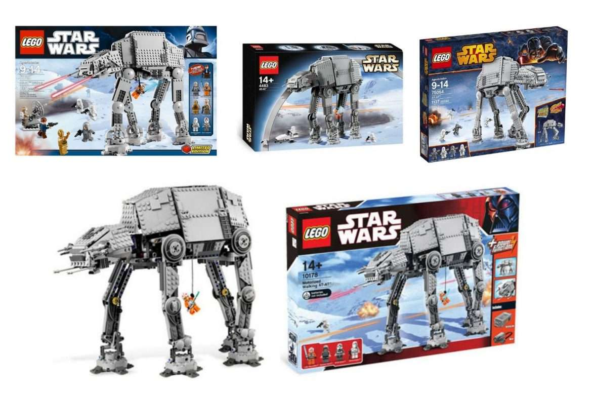 Best LEGO Star Wars AT-AT Walker sets