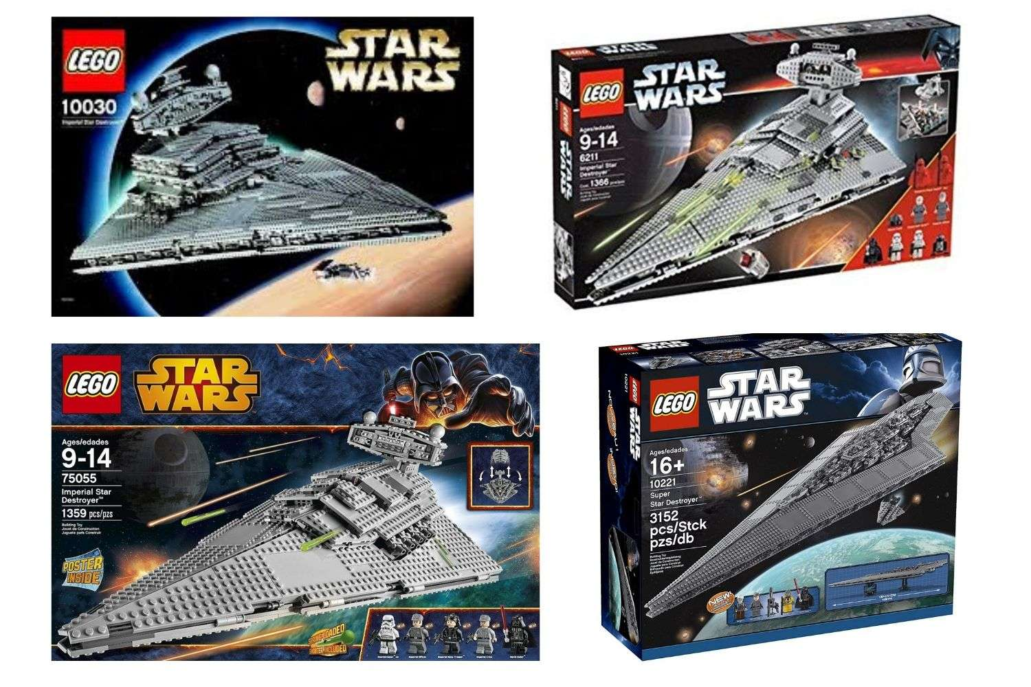 Which Is The Best Lego Star Wars Star Destroyer Set