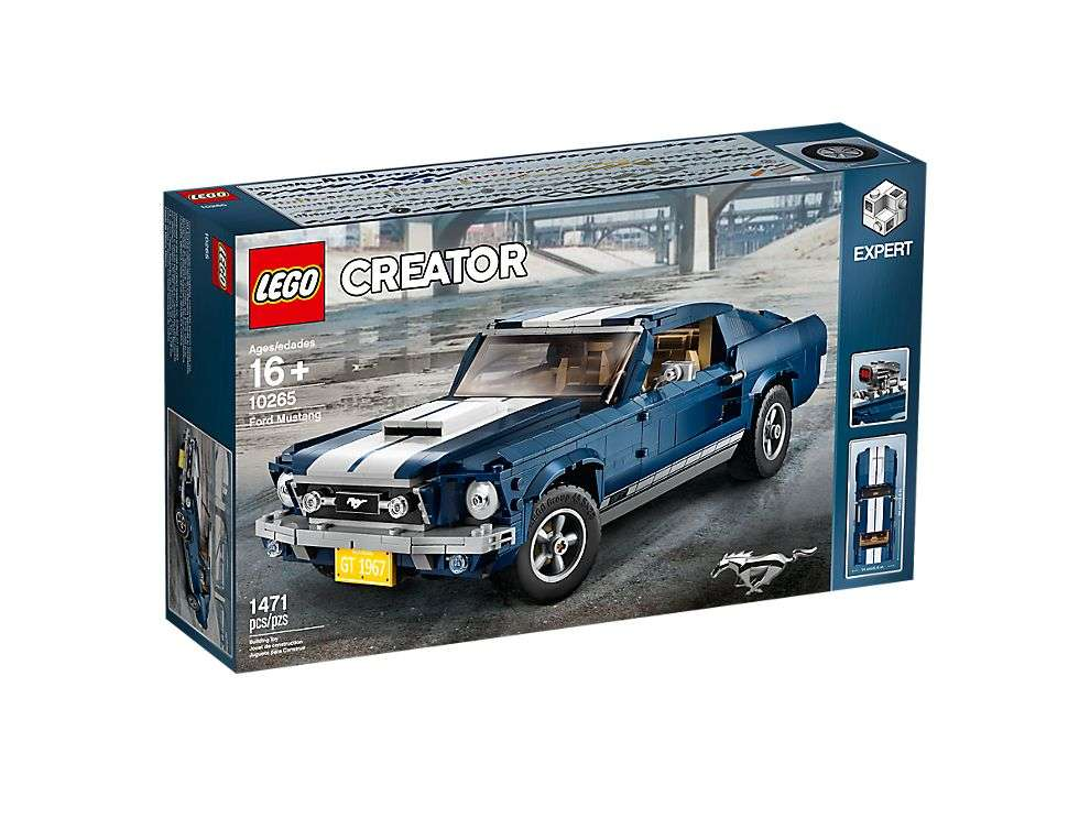 10265 LEGO Ford Mustang