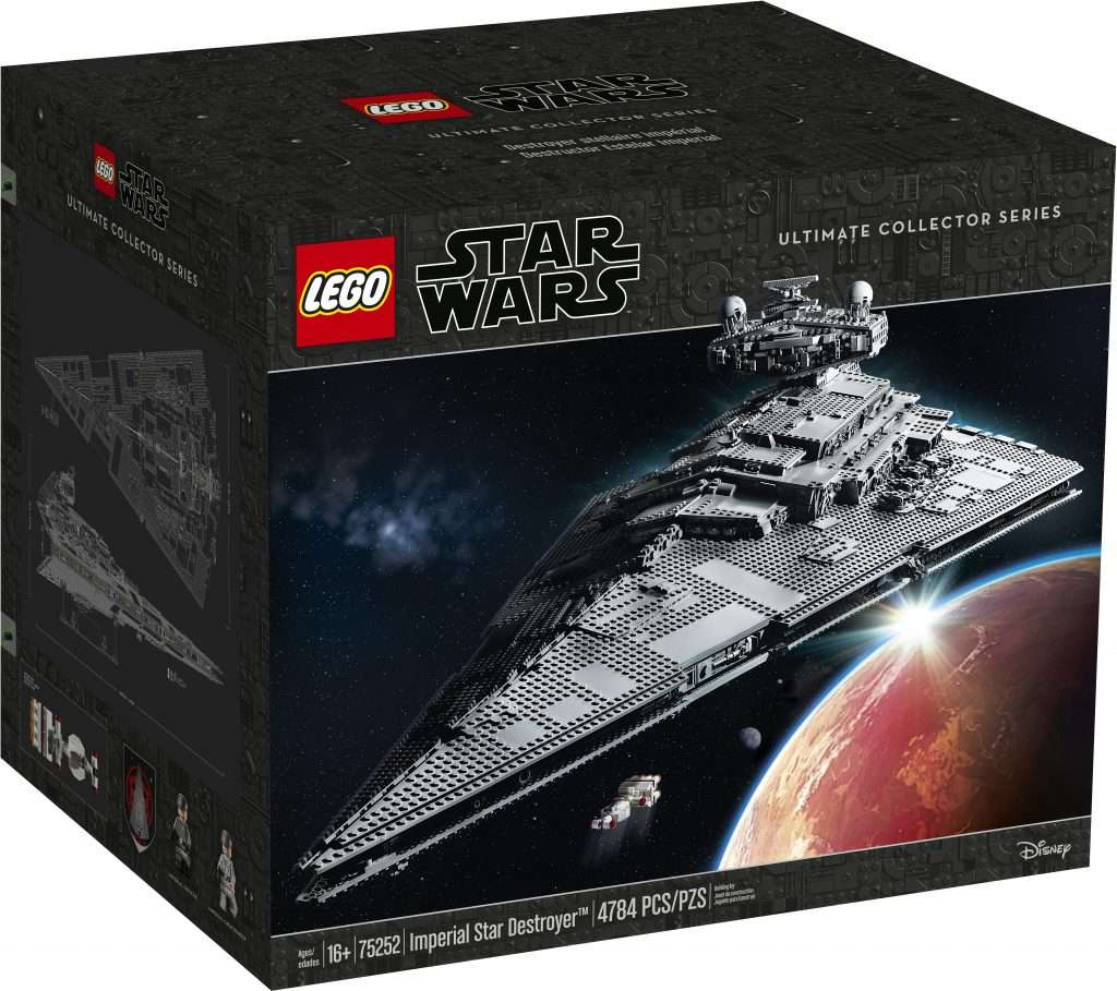 75252 UCS Imperial Star Destroyer box front