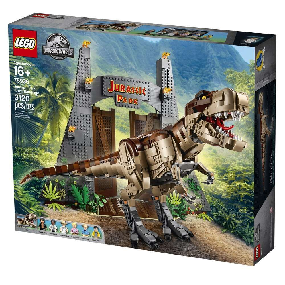 The 75936 Jurassic Park T-rex Rampage