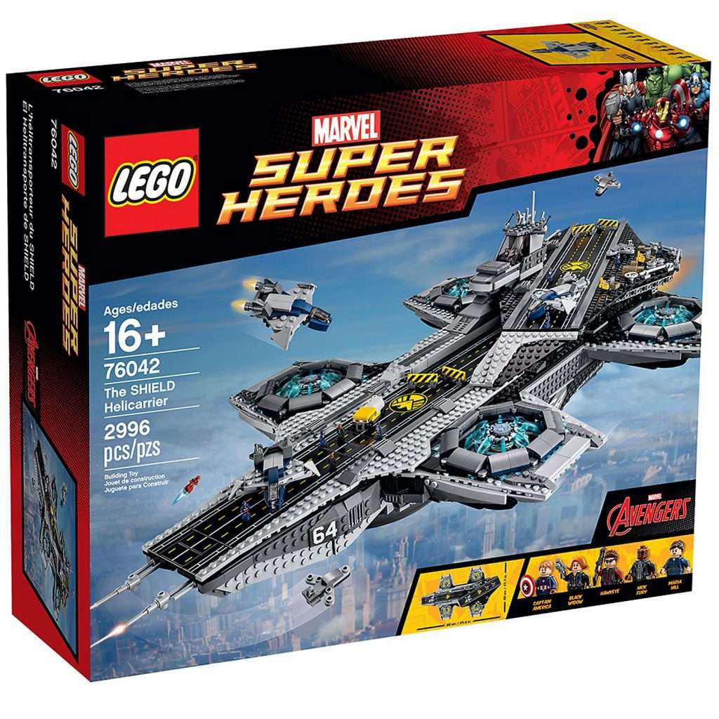 LEGO Avengers 76042 SHIELD Hellicarrier
