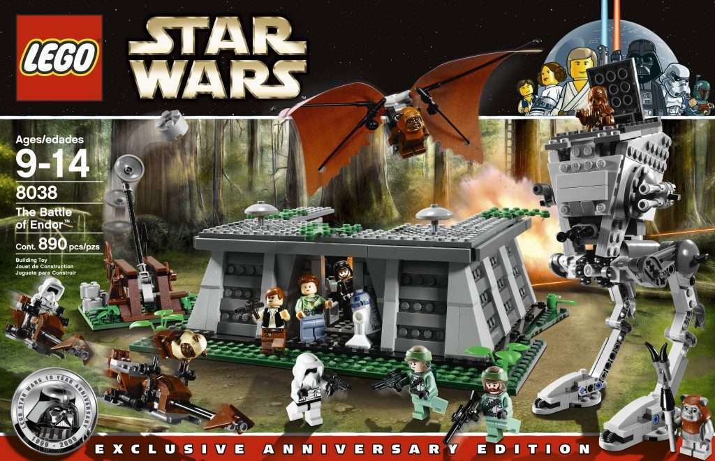 LEGO Star Wars Battle of Endor 8038