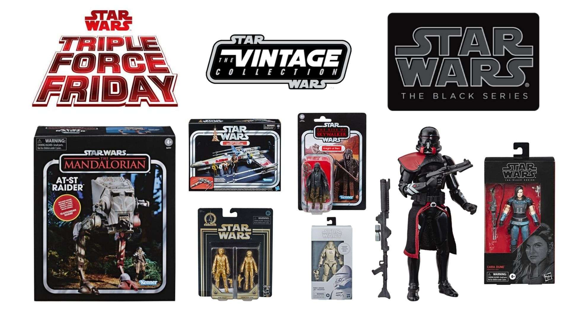 Triple Force Friday Reveals