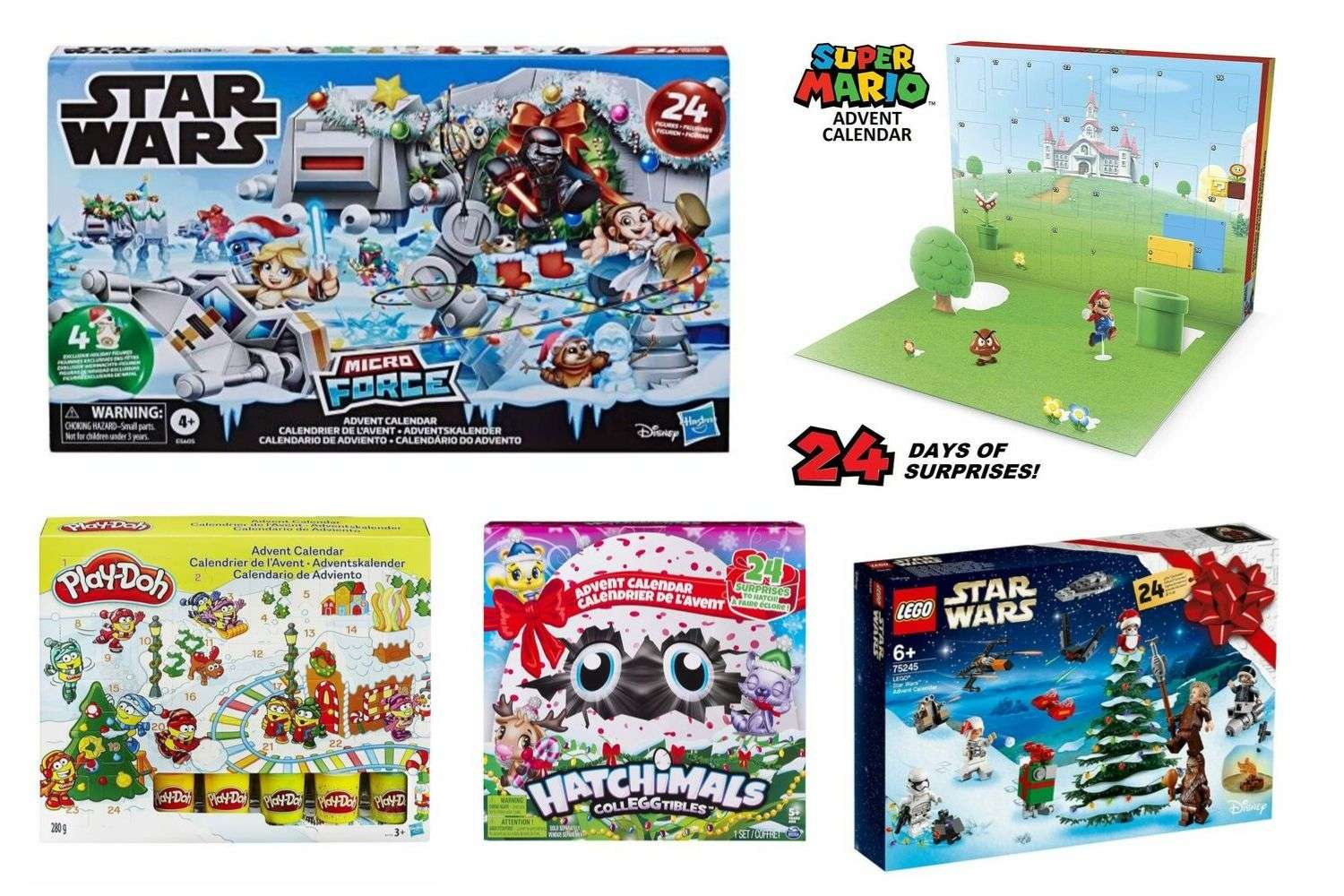 The Best Toy Advent Calendars for Kids 2019