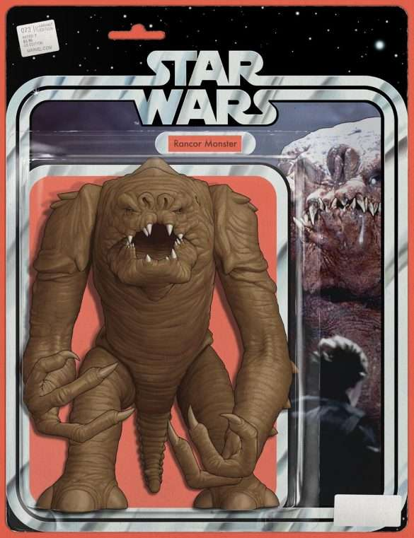 Star Wars 73 Action Figure Variant Rancor Monster