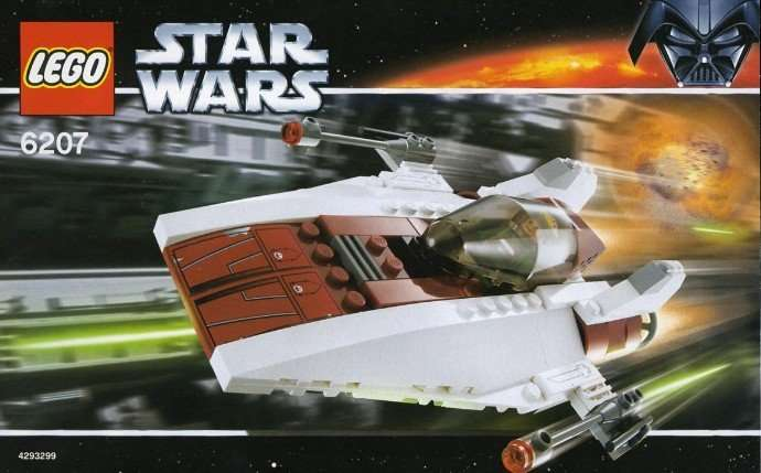 6207 Lego A-Wing Starfighter