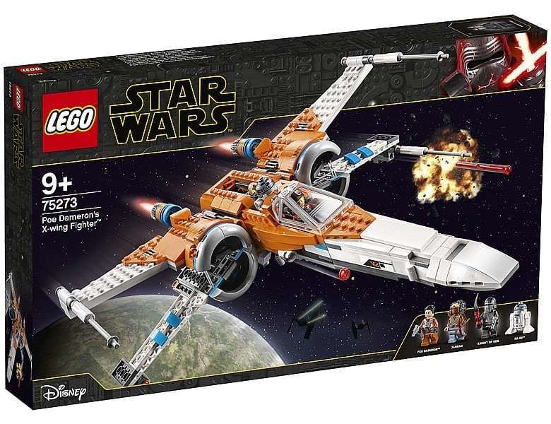 LEGO Star Wars Poe Dameron's X-Wing Fighter 75272