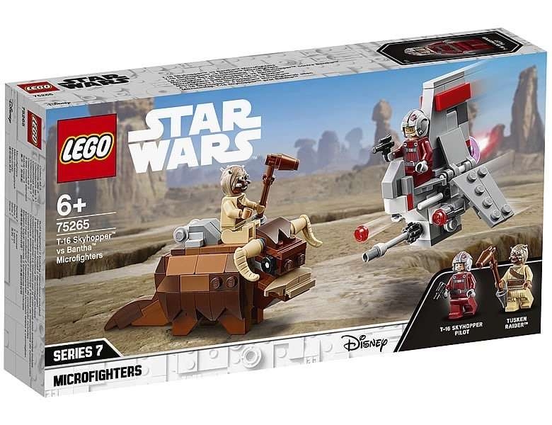 LEGO Star Wars Bantha vs T-16 75265