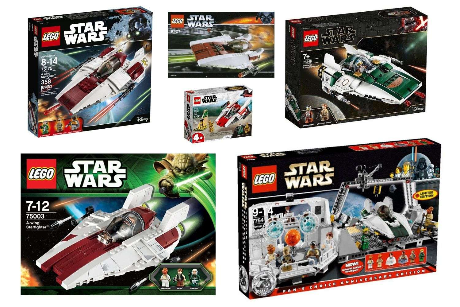 Best LEGO Star Wars A-Wing Starfighter sets