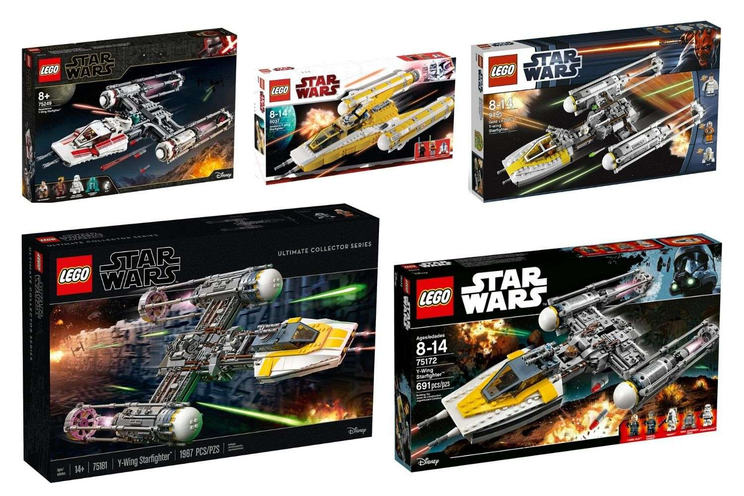 Best LEGO Star Wars Y-Wing Sets