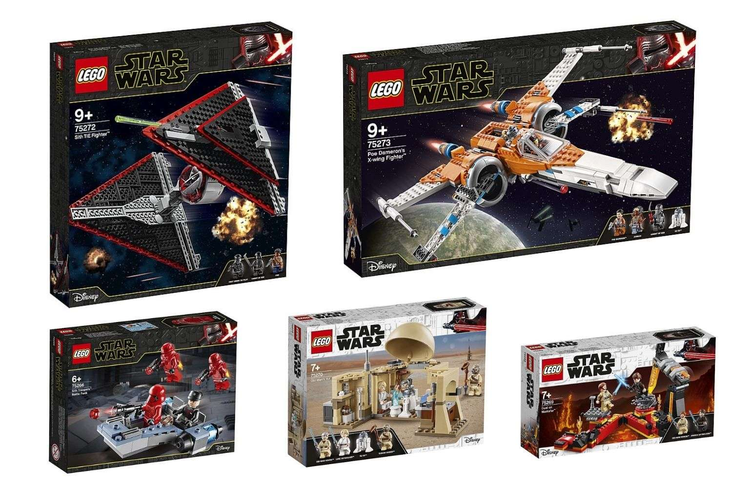 LEGO Star Wars January 2020 sets