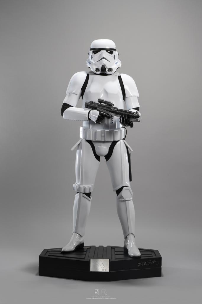 PureArts Stormtrooper Statue