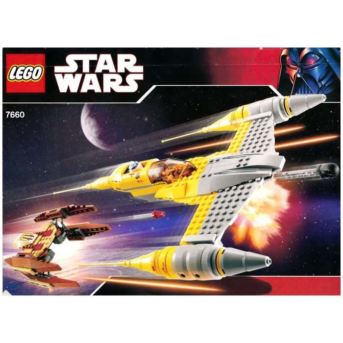 7660 Naboo N-1 Starfighter with Vulture Droid