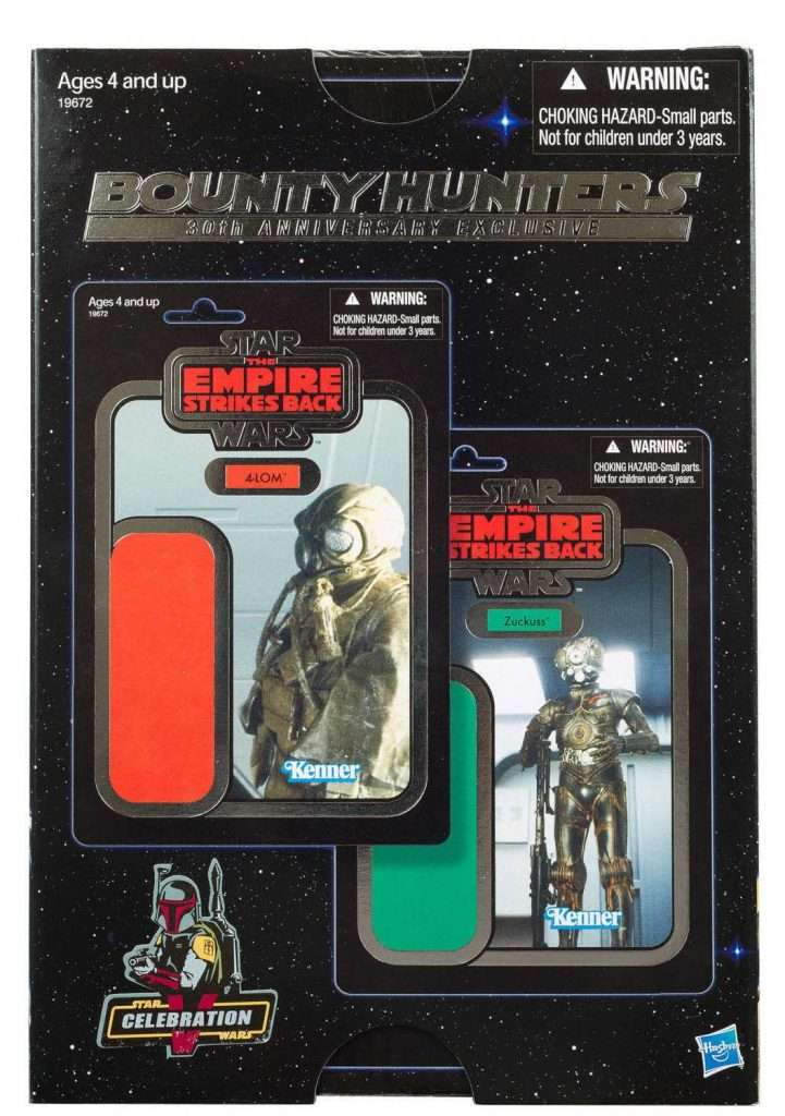 Star Wars Celebration Exclusive Bounty Hunters 2 pack