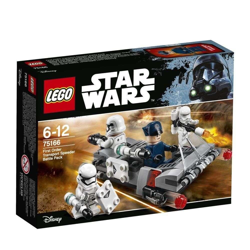 75166 First Order Transport Speeder Battle Pack