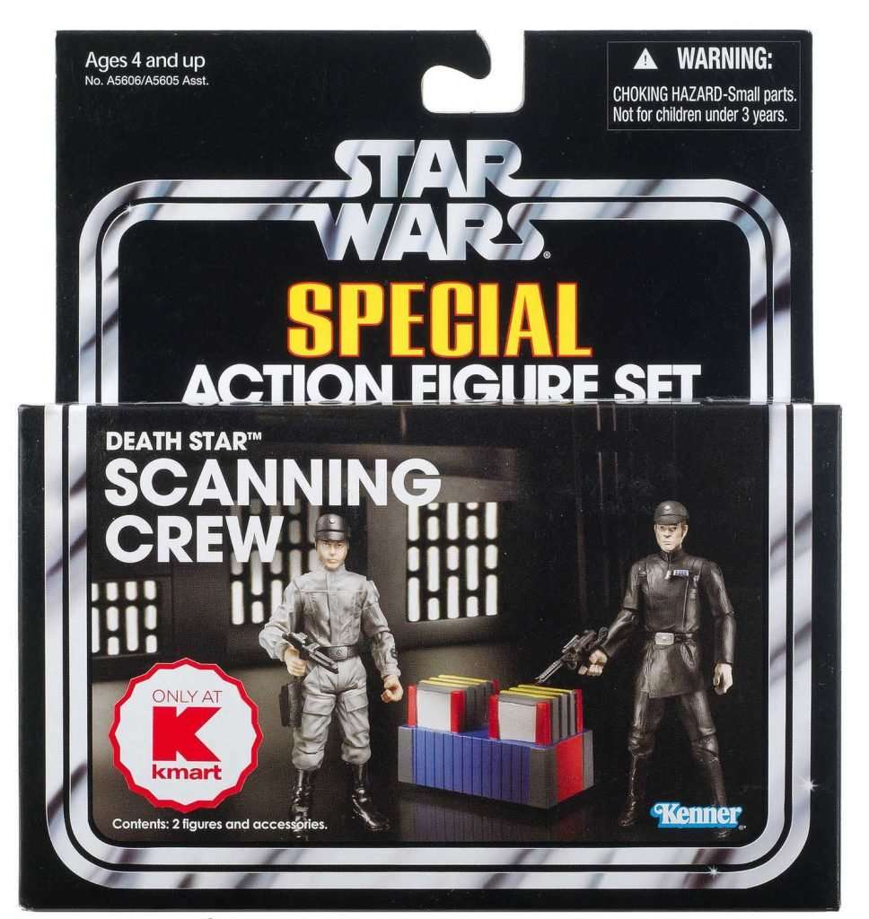 Vintage Collection Death Star Scanning Crew 2 pack