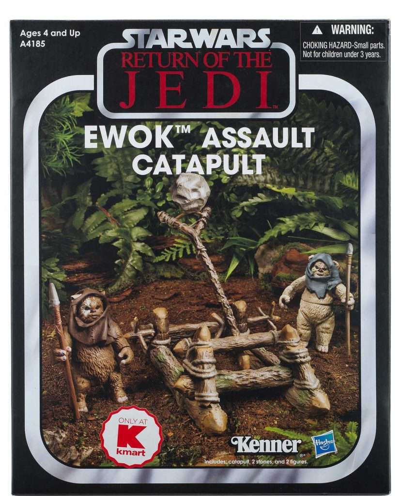 Vintage Collection Ewok Assault Catapult 2 pack