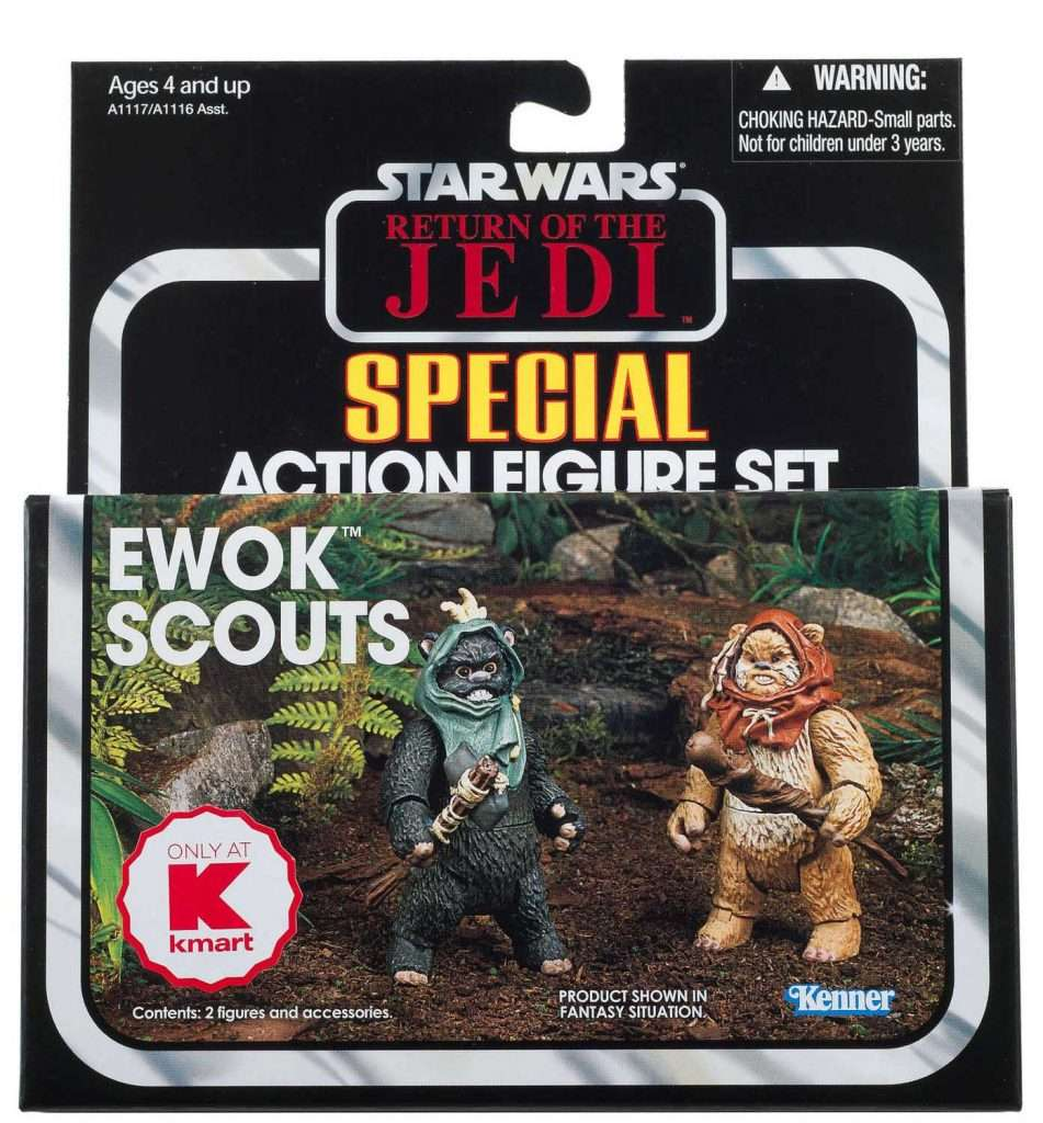 Vintage Collection Ewok Scouts 2 pack