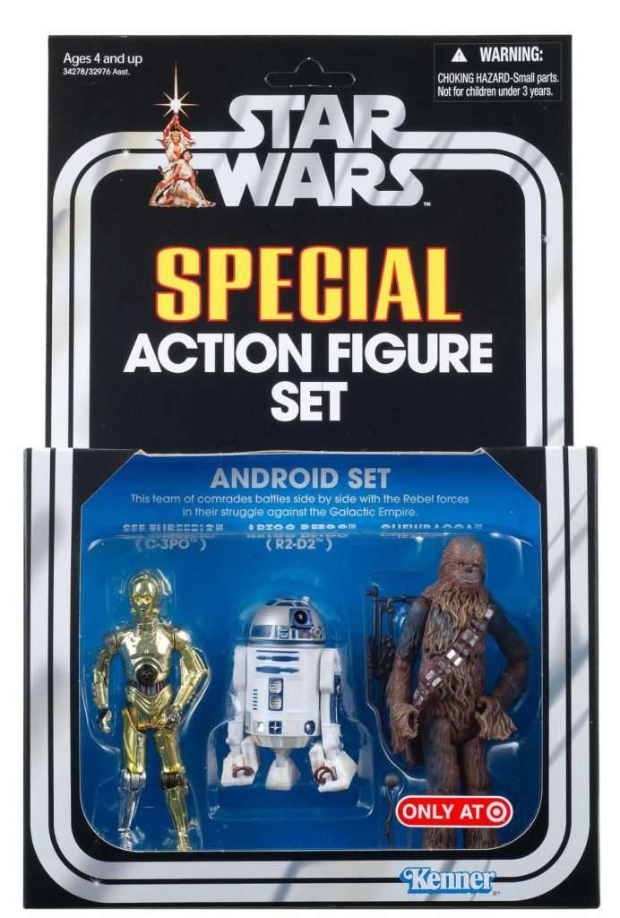 Special Action Figure Set, Android set