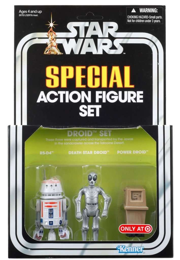Special Action Figure Set, Droid Set