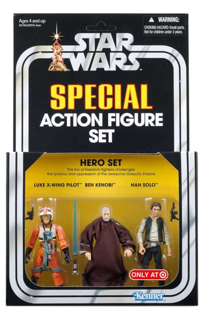 Special Action Figure Set, Hero Set