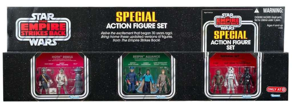 Special Action Figure Set, 9 pack