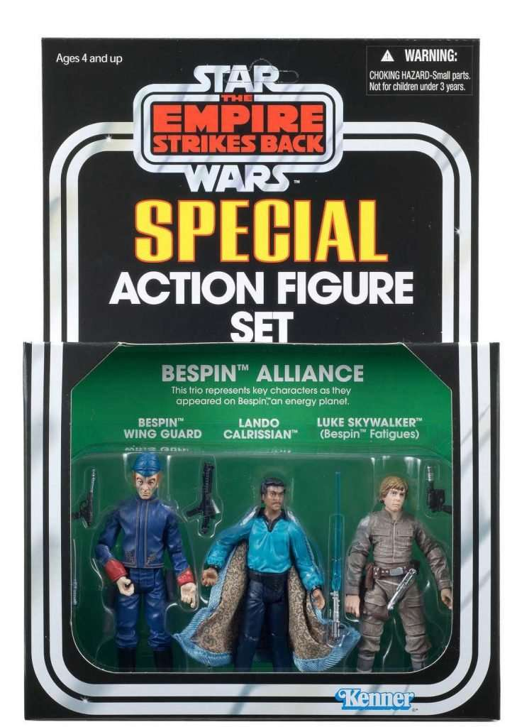 Special Action Figure Set, Bespin Alliance