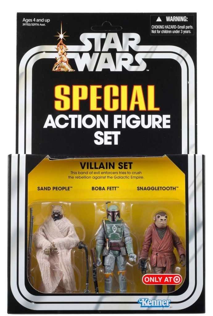 Special Action Figure Set, Villain Set II