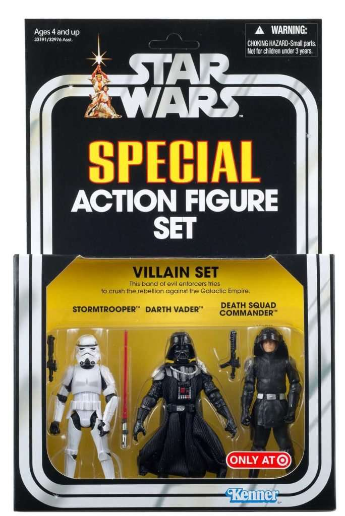 Special Action Figure Set, Villain Set I