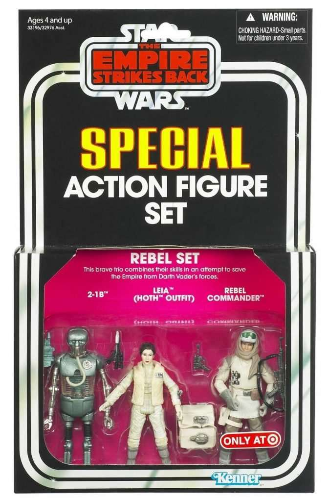 Special Action Figure Set, Rebels Set