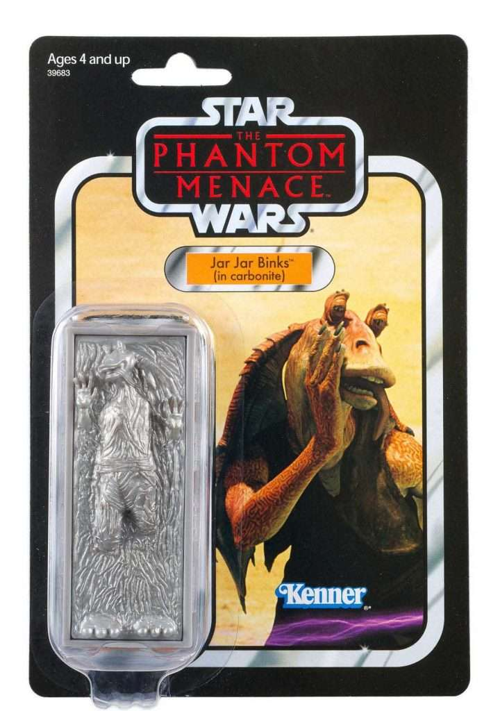 Vintage Collection Jar Jar Binks in Carbonite