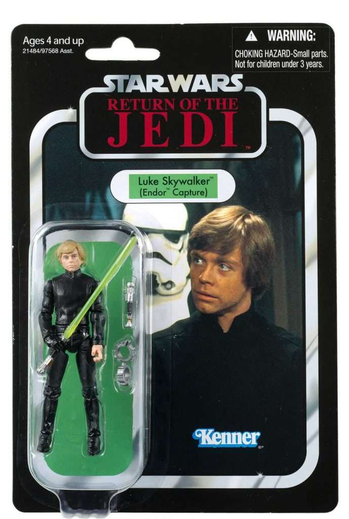 VC23 Luke Skywalker Jedi Knight (Endor Captive)
