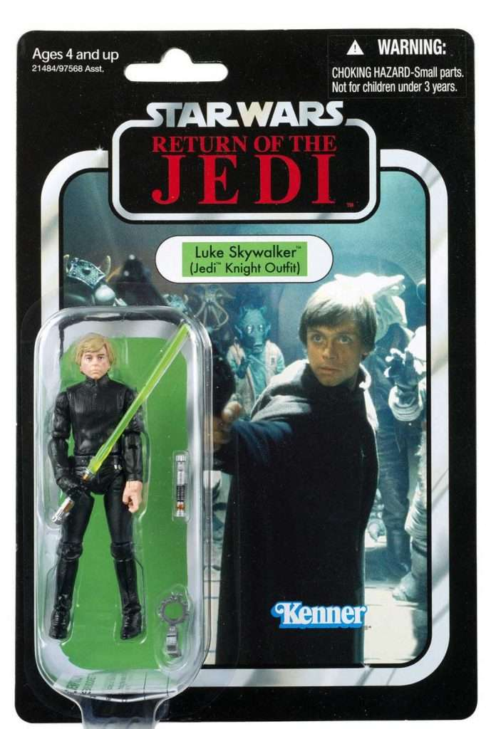 VC23 Luke Skywalker Jedi Knight (Jabbas Palace card)