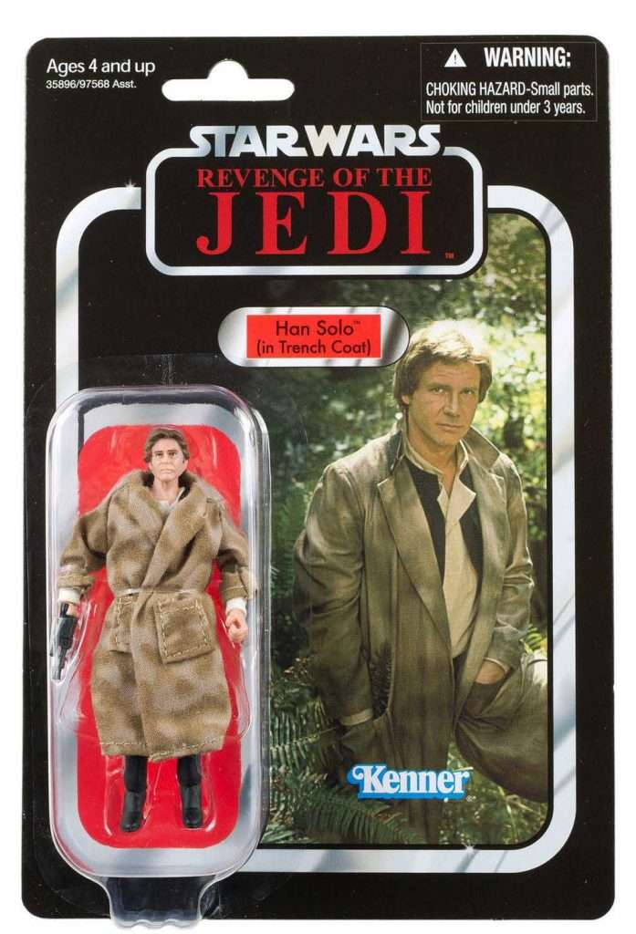 VC62 Han Solo in Trench Coat Revenge of the Jedi