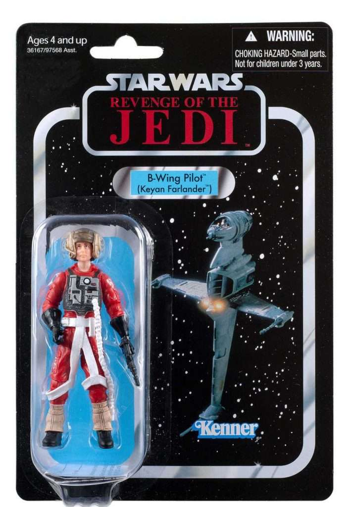 VC63 B-Wing Pilot Revenge of the Jedi