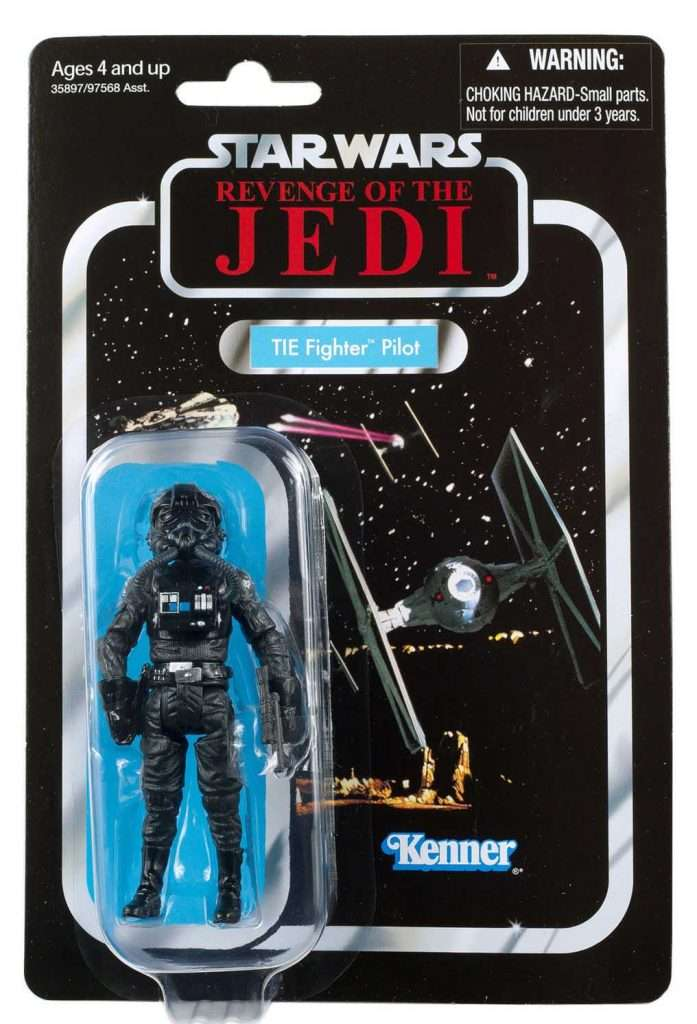 VC65 TIE Fighter Pilot revenge of the jedi