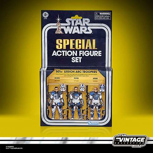 501st Legion Arc Trooper 3 pack